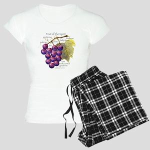 'Fruit of the Spirit' artwo Women's Light Pajamas