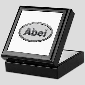 Abel Metal Oval Keepsake Box