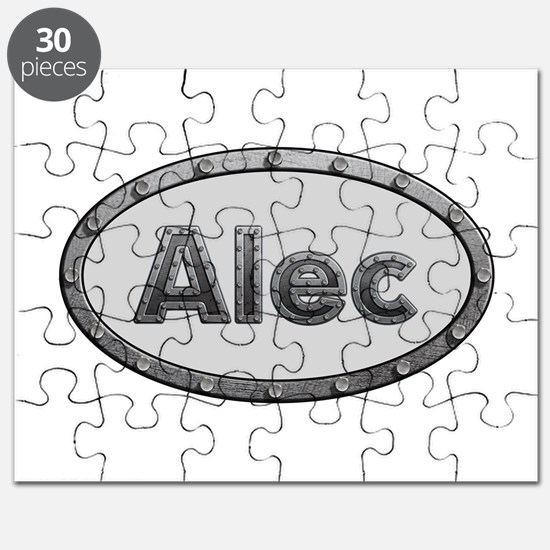 Alec Metal Oval Puzzle