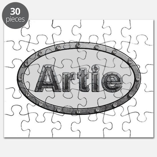 Artie Metal Oval Puzzle