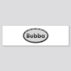 Bubba Metal Oval Bumper Sticker