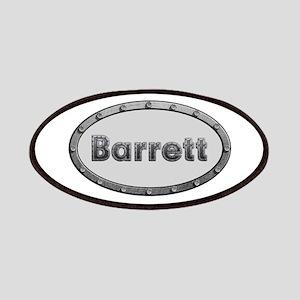 Barrett Metal Oval Patch