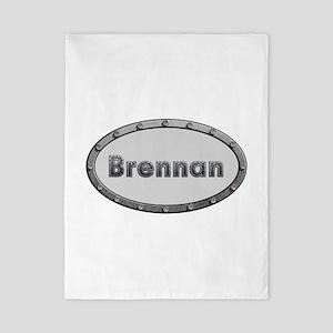 Brennan Metal Oval Twin Duvet