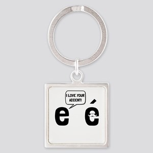 Love Accent Keychains