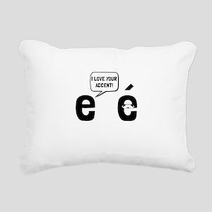 Love Accent Rectangular Canvas Pillow