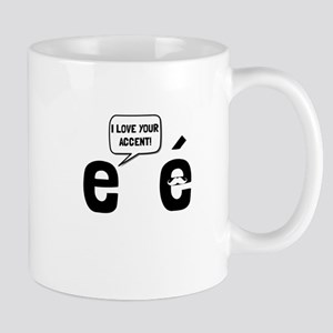 Love Accent Mugs