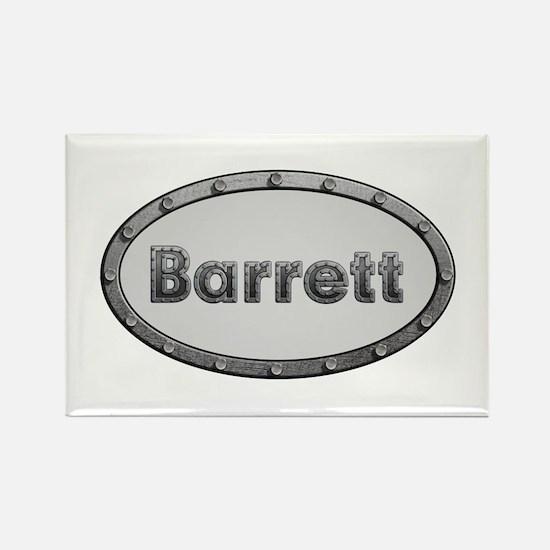 Barrett Metal Oval Rectangle Magnet 100 Pack
