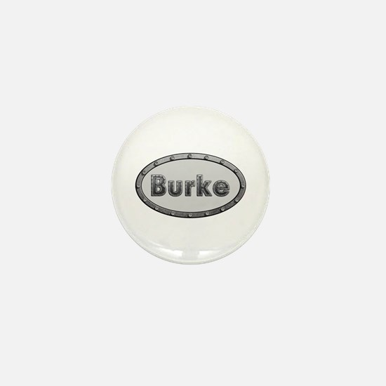 Burke Metal Oval Mini Button