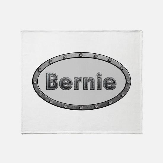 Bernie Metal Oval Throw Blanket