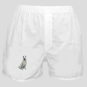 White Akita Boxer Shorts