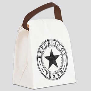 Republic of Texas Canvas Lunch Bag