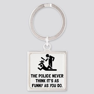 Police Funny Keychains
