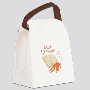 Little Crawler Canvas Lunch Bag