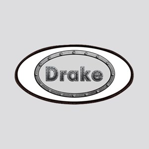 Drake Metal Oval Patch