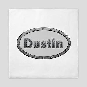 Dustin Metal Oval Queen Duvet