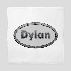 Dylan Metal Oval Queen Duvet
