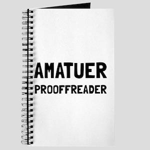Proofreader Journal
