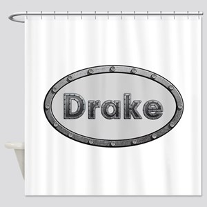 Drake Metal Oval Shower Curtain