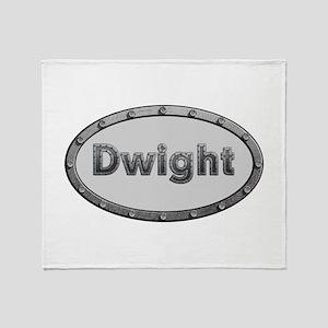 Dwight Metal Oval Throw Blanket
