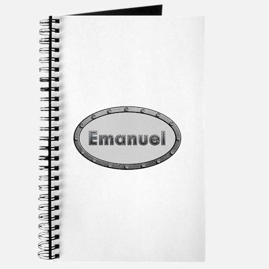 Emanuel Metal Oval Journal
