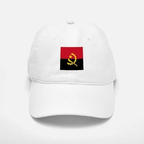 Flag of Angola Baseball Baseball Cap