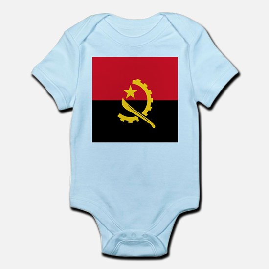 Flag of Angola Body Suit