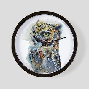 Owl Design Wall Clock