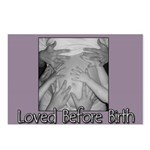 Loved Before Birth Postcards (Package of 8)