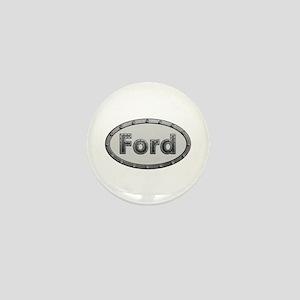 Ford Metal Oval Mini Button