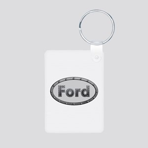 Ford Metal Oval Aluminum Keychain