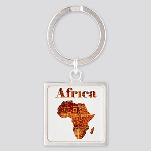 Ethnic Africa Keychains