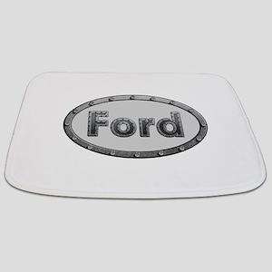Ford Metal Oval Bathmat