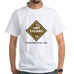 Cigars White T-Shirt
