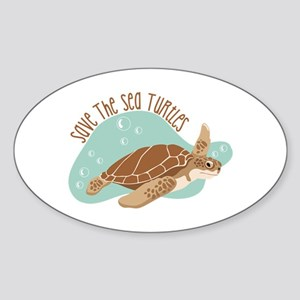 Save the Sea Turtles Sticker