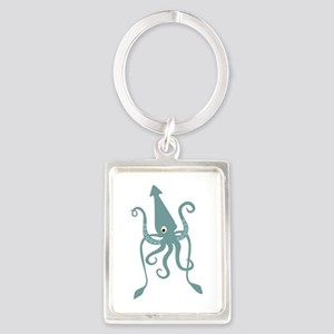 Giant Squid Keychains