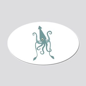 Giant Squid Wall Decal