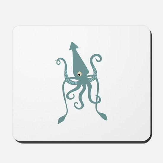 Giant Squid Mousepad