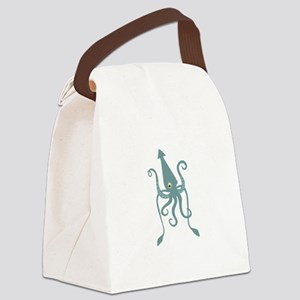 Giant Squid Canvas Lunch Bag