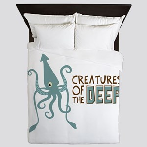 Creatures of the Deep Queen Duvet