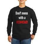 Redhead Long Sleeve Dark T-Shirt