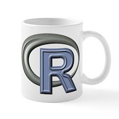 R Programming Language Logo Mugs