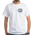 R Programming Language Logo White T-Shirt