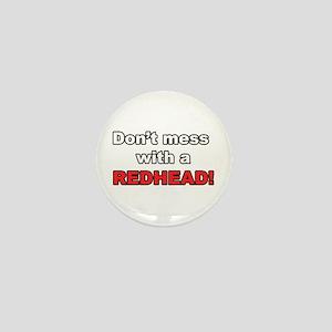 Redhead Mini Button