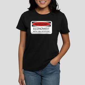 Attitude Economist Women's Dark T-Shirt