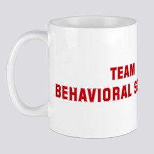 Team BEHAVIORAL SCIENCE Mug