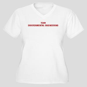 Team ENVIRONMENTAL ENGINEERIN Women's Plus Size V-