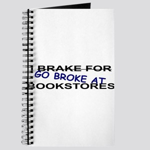 I Go Broke at Bookstores Journal
