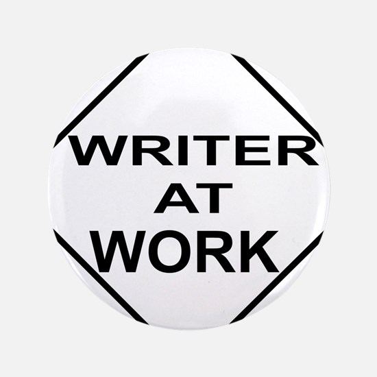 "WRITER AT WORK 3.5"" Button (100 pack)"
