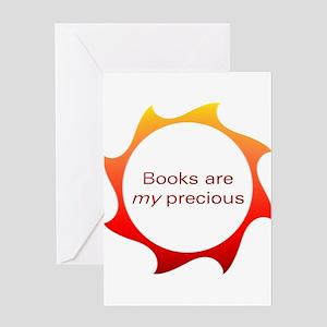 Books are my precious Greeting Card
