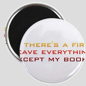 fire_books Magnet